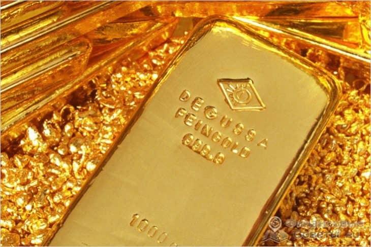Где можно купить слиток золота